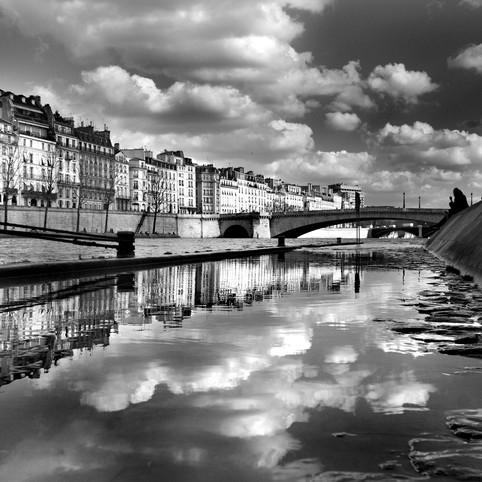 Nuages sur la Seine