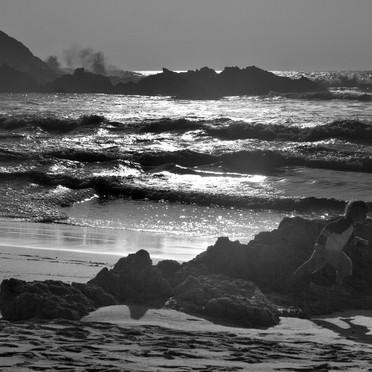 Course aux vagues