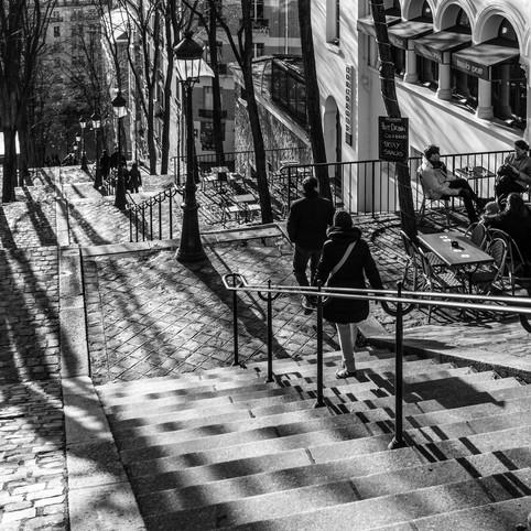 Marches et ombres