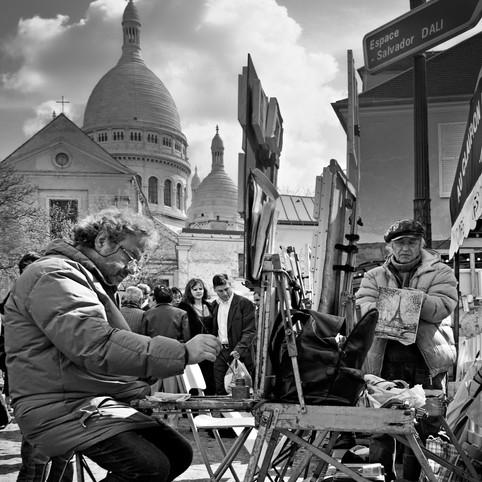 Peintres, Montmartre