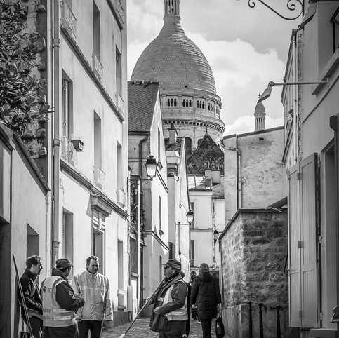 Eboueurs, Montmartre