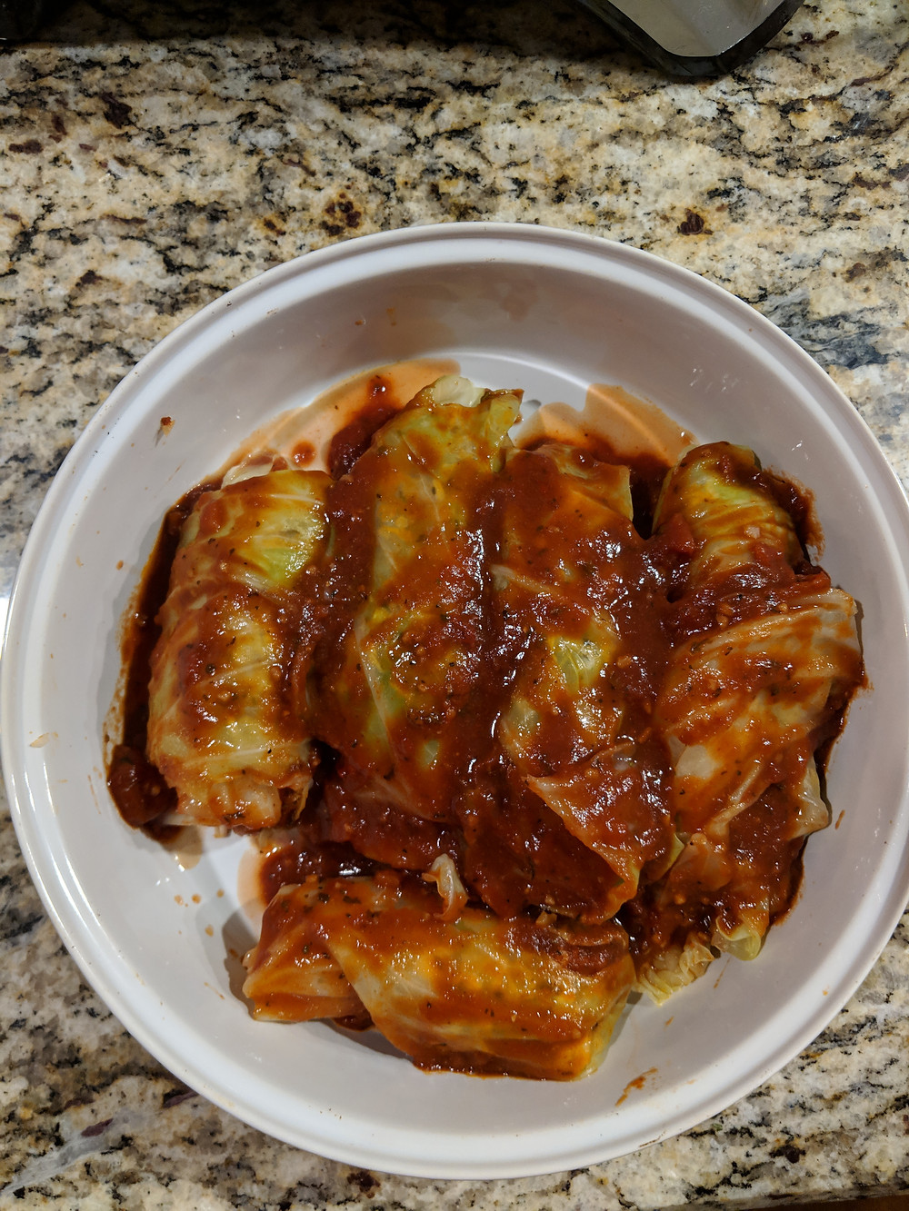 Jackfruit Cabbage Rolls