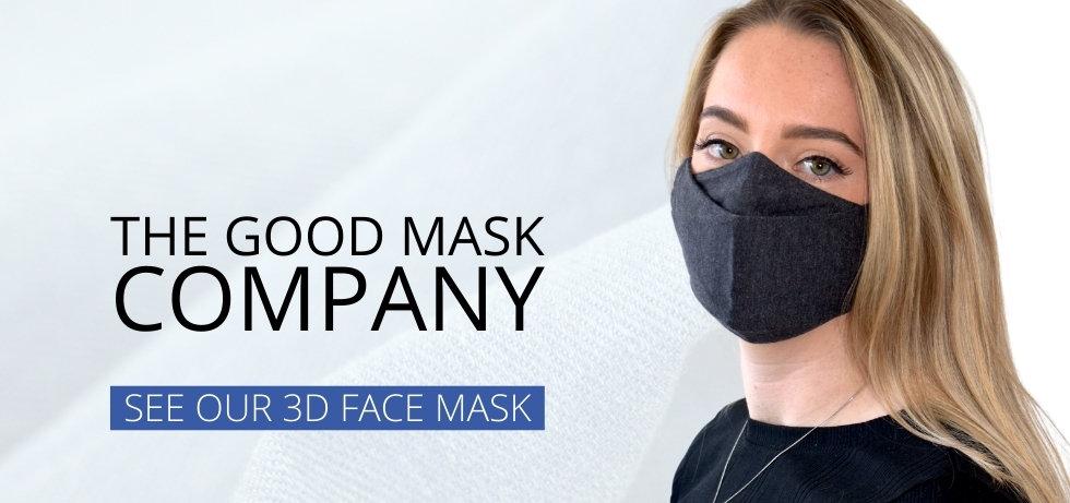 3D mask banner