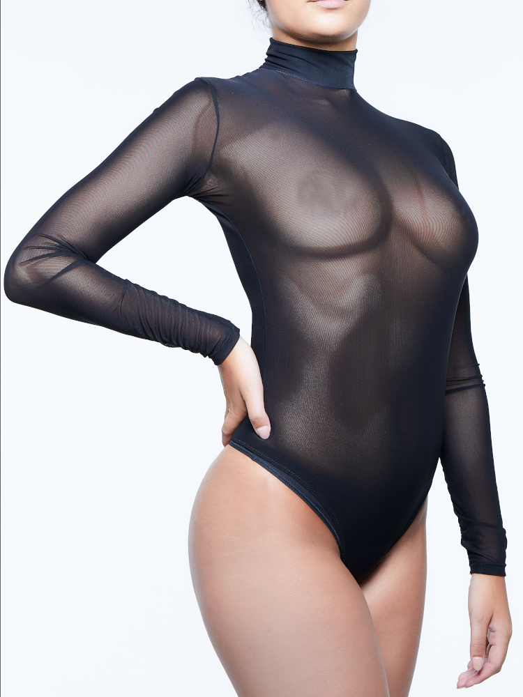 Miss Naughty Sheer Bodysuit