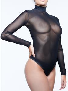 Miss Naughty Sheer Bodysuit