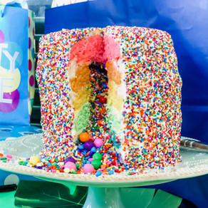 A Rainbow Explosion!