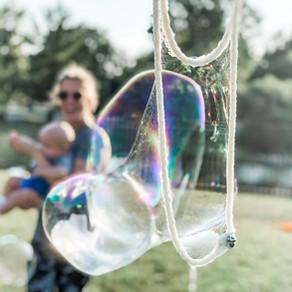 Bubbles, bubbles everywhere!