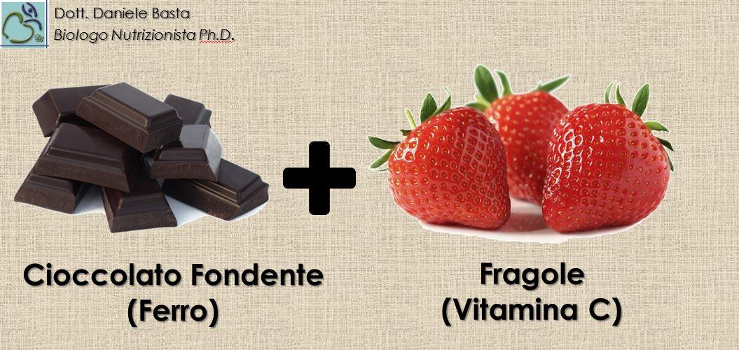 Cioccolato fondente + Fragole