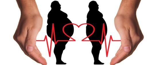 Con la pancia ma in salute? Non proprio, il rischio di infarto è comunque aumentato