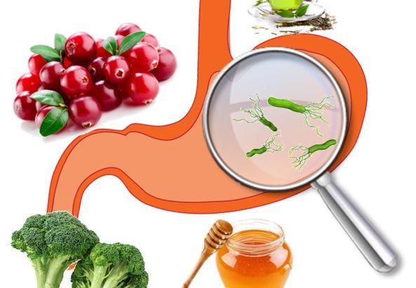 Infezione da Helicobacter pylori e alimentazione, puoi trattarla naturalmente?