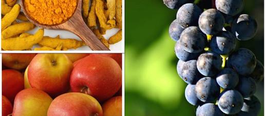 Curcuma, mele, uva rossa: l'azione sinergica di composti bioattivi contro il carcinoma prostatic