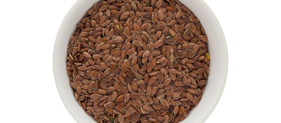 I semi di lino contro l'ipertensione