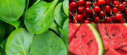 Spinaci, ciliegie e anguria per una migliore performance atletica e per il recupero muscolare