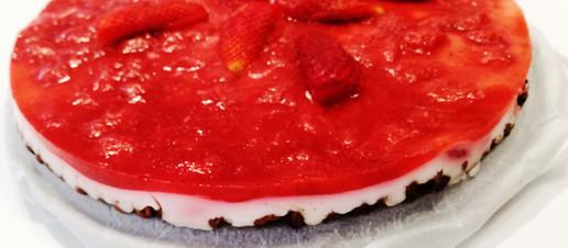 Cheesecake alle fragole, ricetta light