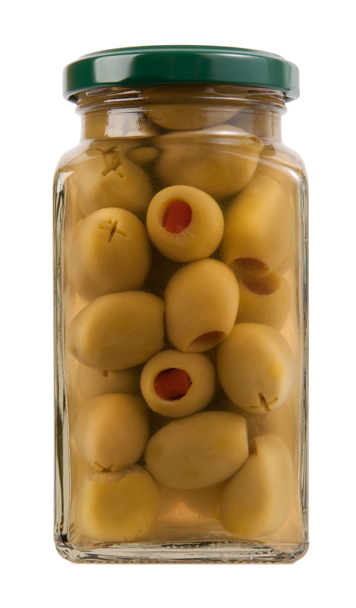 The Spanish olives in Spanish Olive Oil