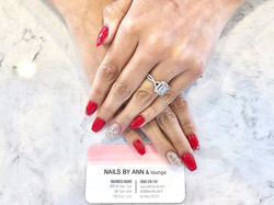 GLAM IT UP ✨❤️_#nailsofinstagram #nails