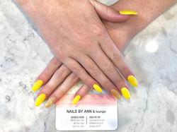 Loving this beautiful yellow! Go big or