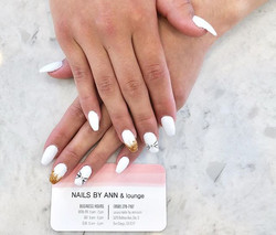 Never go wrong with white!_#nailsofinsta