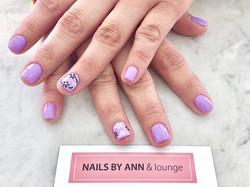 so cute! 💜💜💜_💅🏻 #fullsetnails #nail