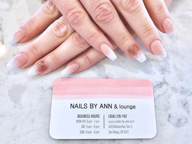 ombré nails 🌷_#prettynails #3dflowernai