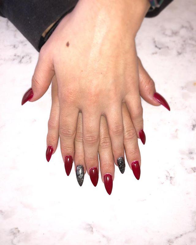 #nailsofinstagram #nails #nailsbyann #ac