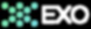 Exo Logo Horizontal Reverse White 2019JU