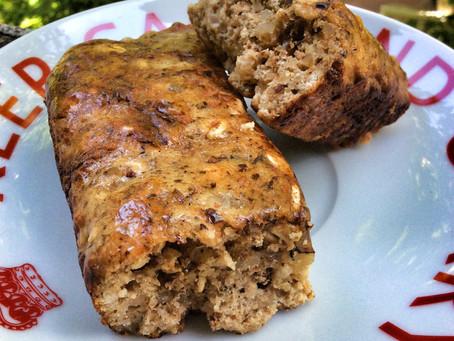 -- Recette -- Barres protéinées style pain aux bananes