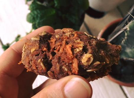 Recette - Biscuits protéinés aux carottes