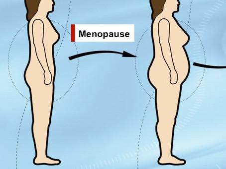 La ménopause et le gain de poids