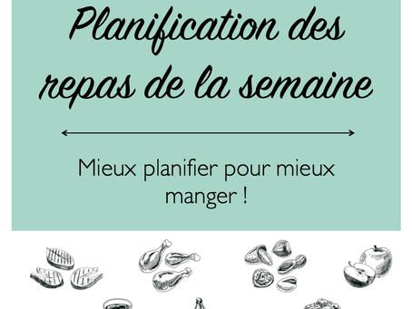 Mon E-Book de planification des repas maintenant disponible !