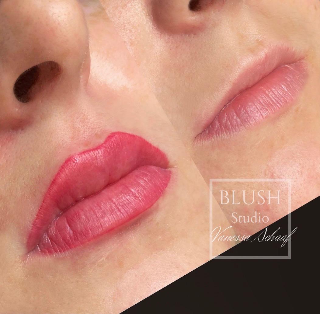 Semi Permanent Lip Tattoo AKA Lip Blush