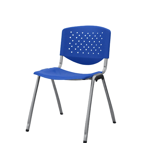 Silla Plastica de Espera TEXAS - Color Azul