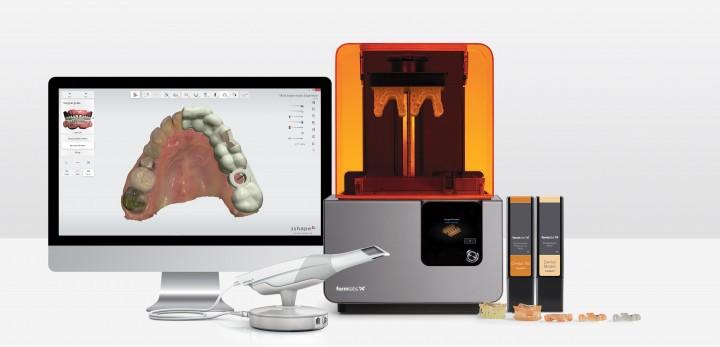 歯科用3Dプリンター formlabs Form2
