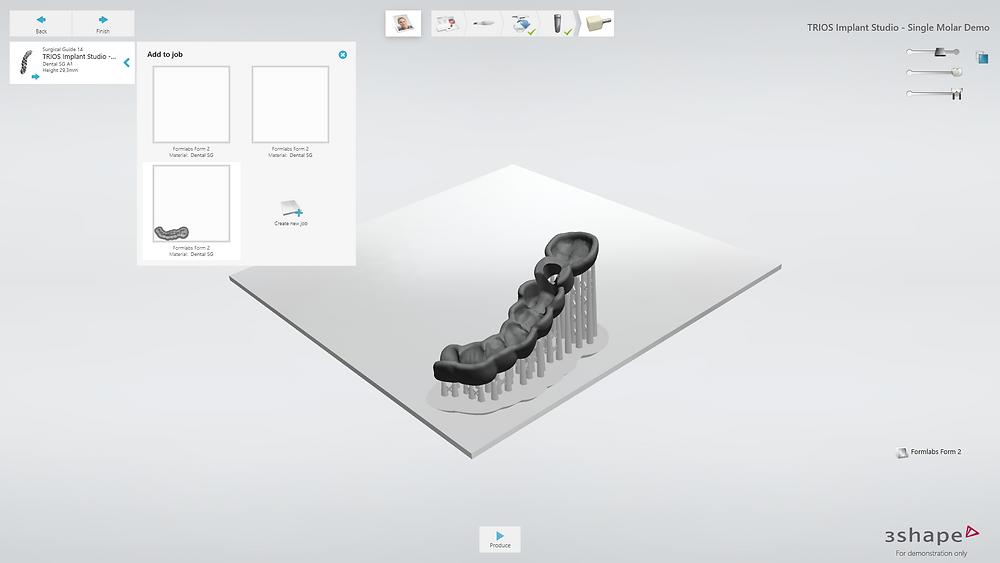 データはシームレスに3Dプリント可能な状態に加工されます