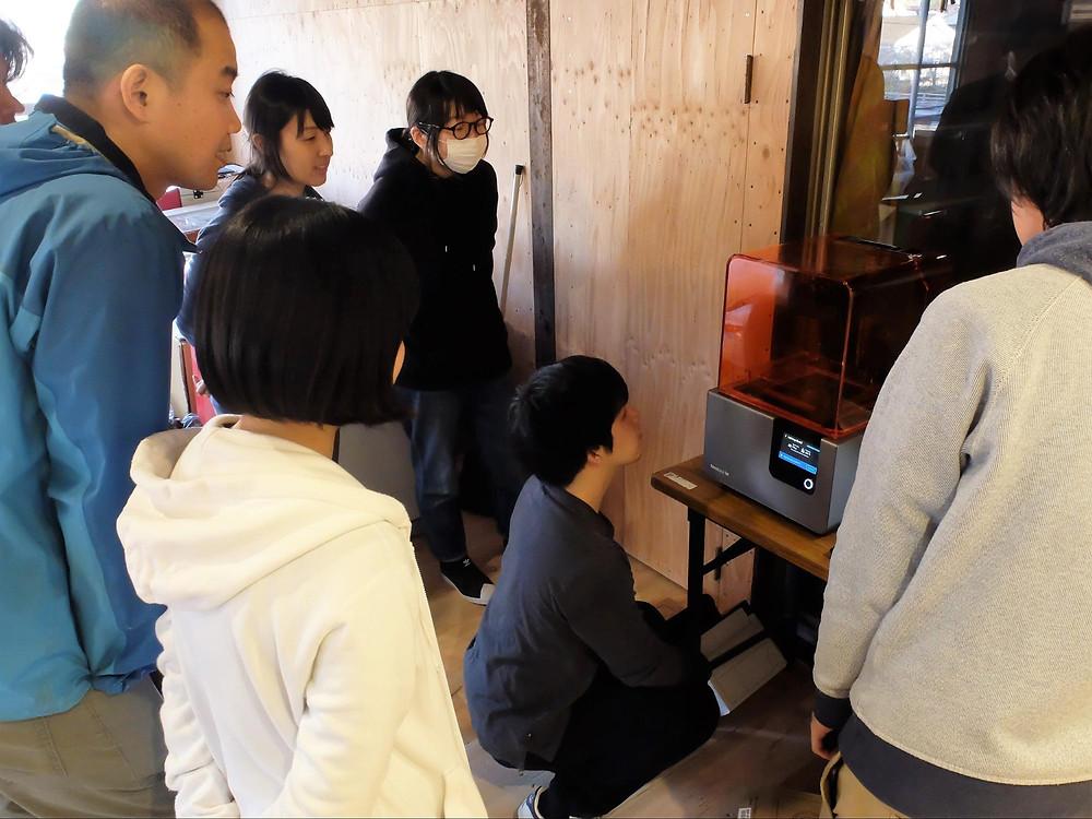 formlabs Form2 高知県佐川町 導入事例