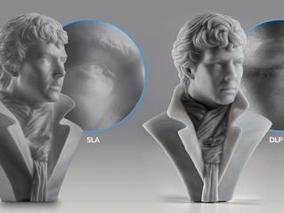 SLA vs DLP 2つの光造形3Dプリント技術の比較