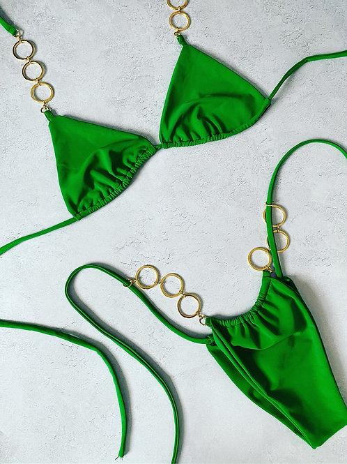 Ready to ship emerald bikini