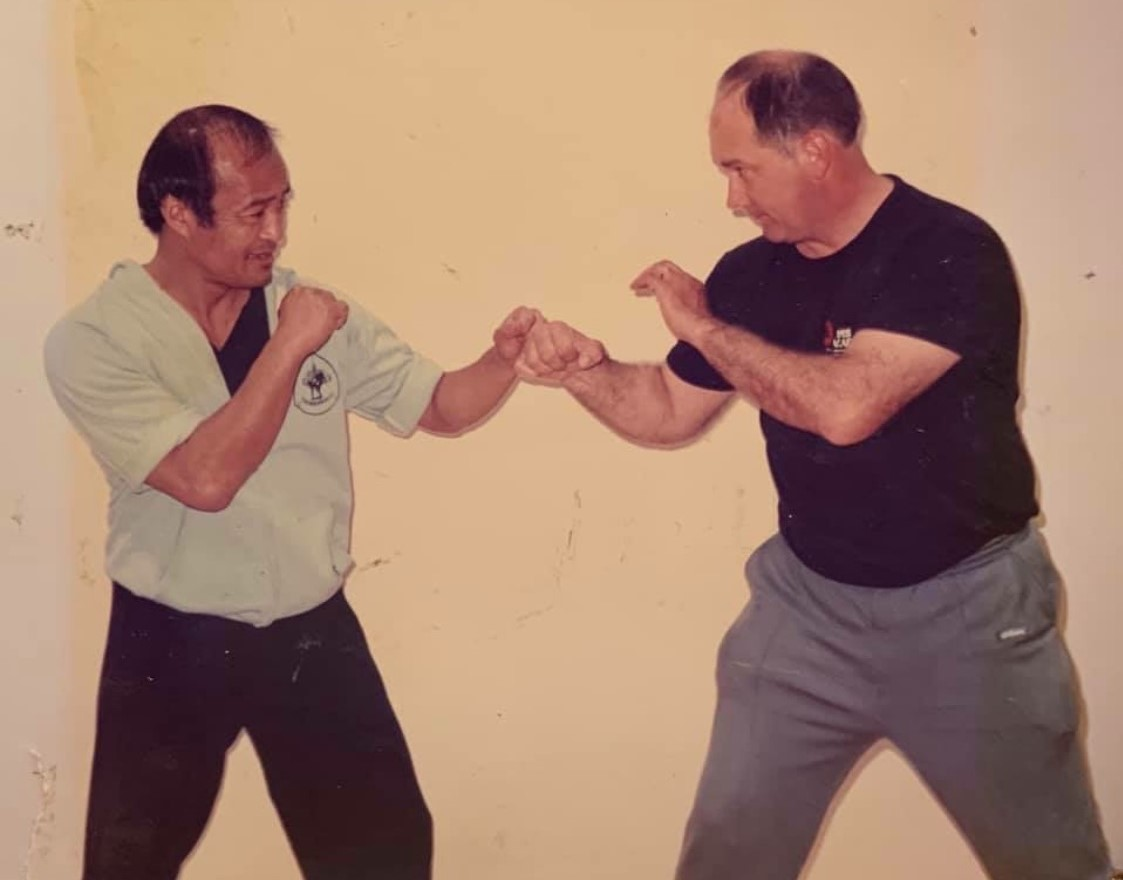 Guro Inosanto and Prof. Dill