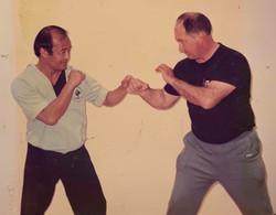 Guro Inosanto and Prof. Dill