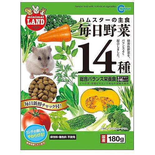 Marukan 14種日常蔬菜主食
