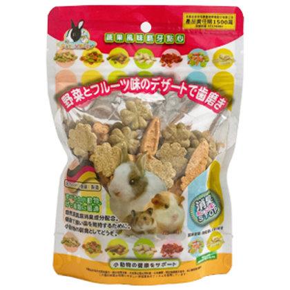 Pet Village PV鼠兔用磨牙餅/零食 幾何造型磨牙餅