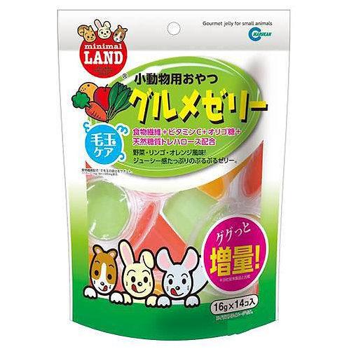 Marukan 水果菜汁 果凍 16g X14pcs