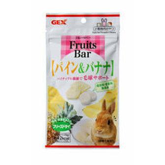 GEX Fruits Bar  香蕉菠蘿乾