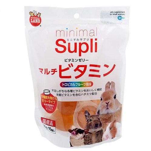 Marukan Supli 熱帶水果風味果凍  10個