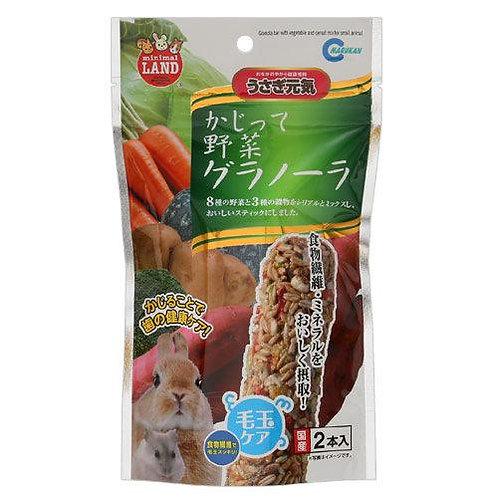 Marukan 蔬菜穀物營養棒  2支裝