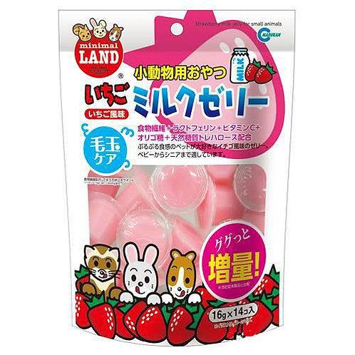 Marukan 草莓牛奶果凍 (16gx14入)