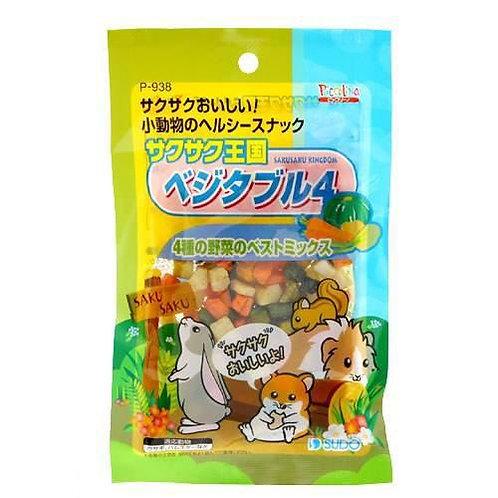 Sudo  4種蔬菜乾