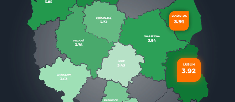 Lublin is the safest city in Poland!