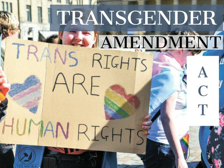 Transgender Amendment Act, 2019