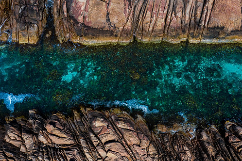 Clear Canal Rocks
